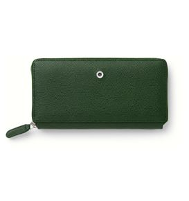 Graf-von-Faber-Castell - Ladies purse Epsom with zipper, Olive Green