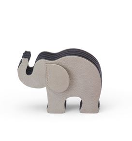 Graf-von-Faber-Castell - Pen holder Elephant Medium, nubuck