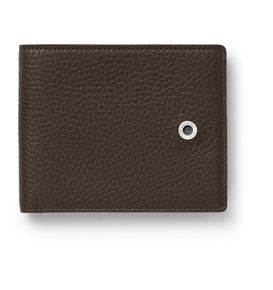 Graf-von-Faber-Castell - Credit card case Cashmere, dark brown