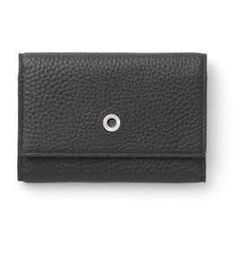 Graf-von-Faber-Castell - Business card case Cashmere, black