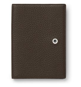 Graf-von-Faber-Castell - Passport holder Cashmere, dark brown