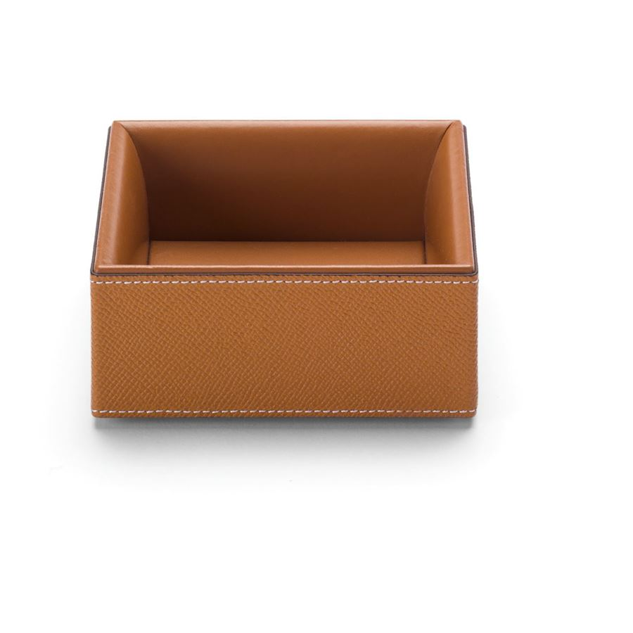 Graf-von-Faber-Castell - Accessories box large Pure Elegance, cognac